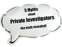 Private Investigator Perth | Myths